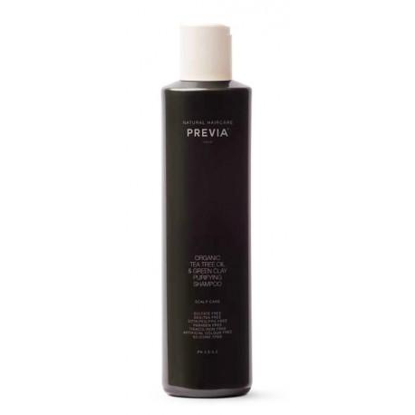 Extra Life Organic Tea Tree Oil Anti-Dandruff Cley Shampoo Shampoo - 250ml